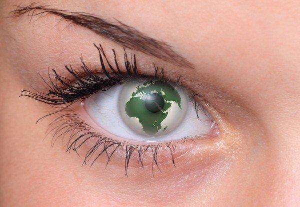 eye-pupil-lid-eyebrow-world-earth-globe-woman