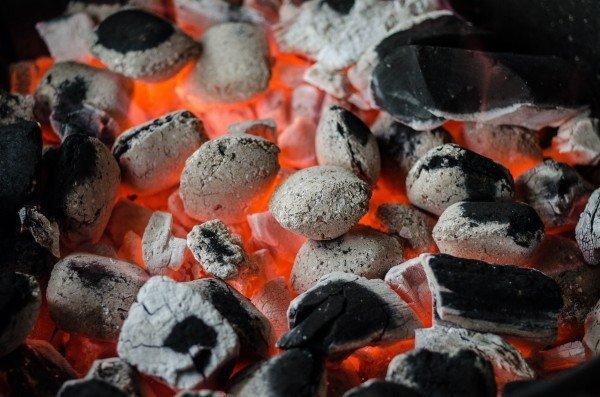 hot-briquettes-in-bonfire